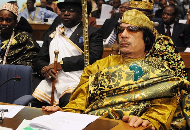 Corte Penal Internacional emite orden de arresto contra Moammar Jaddafi