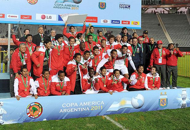 Perú es tercero en Copa América