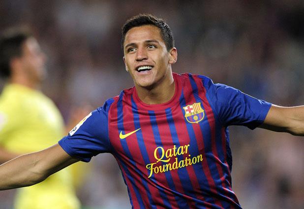 Sánchez comenzó con el pie derecho y anota en goleada de Barcelona