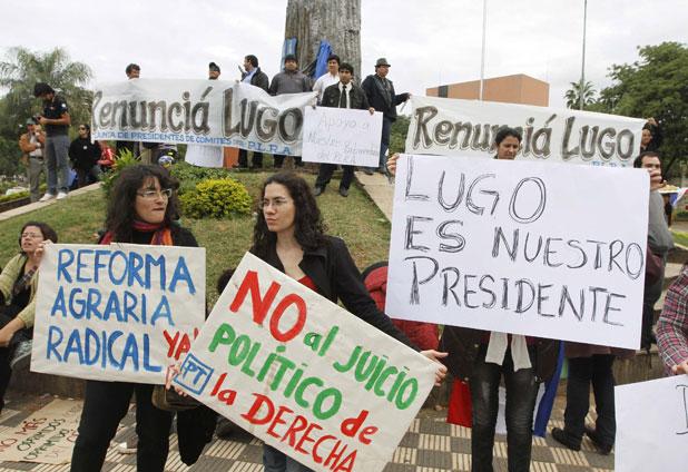 Lugo enfrenta proceso de destitución