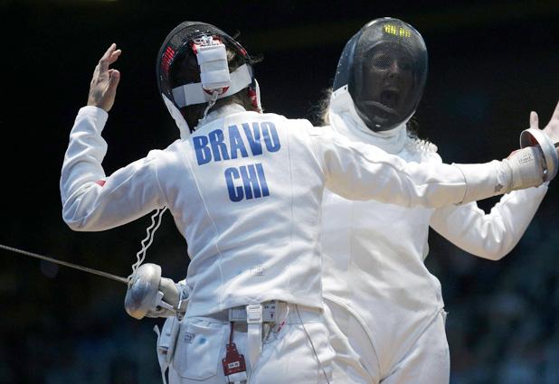 Cáterin Bravo luchó, pero cayó 15-12