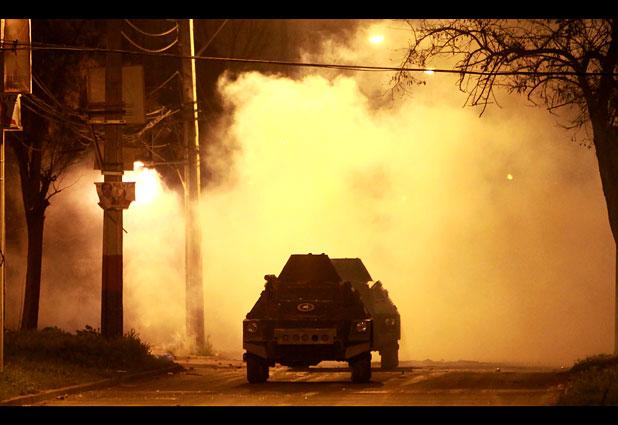 Disturbios marcan conmemoración del ´´11´´