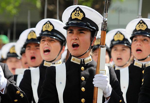 Gran parada militar Chile 2012. Desfile militar Chile.