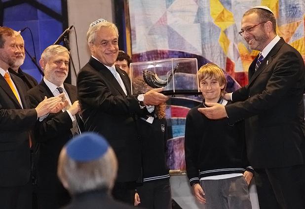 "Presidente Piñera participa en la""Tefilá por Chile 2012"""