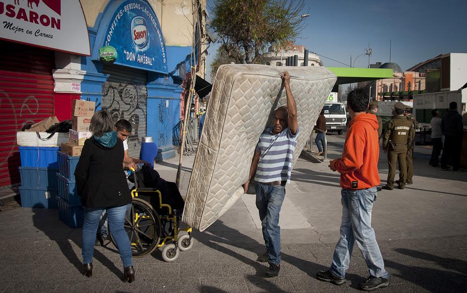 Desalojo de inmigrantes: 330 personas vivían en 18 departamentos